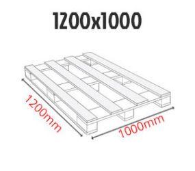 Paleta przemysłowa 1200 x 1000