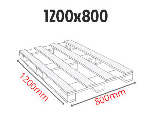 Paleta przemysłowa 1200 x 800